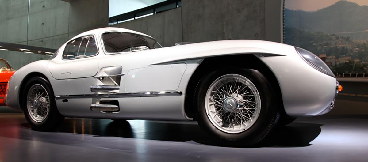 Mercedes Benz 300 slr Uhlehhaut Copue